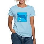 i dive manta Women's Light T-Shirt