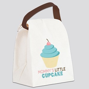 Mommys Little Cupcake Canvas Lunch Bag