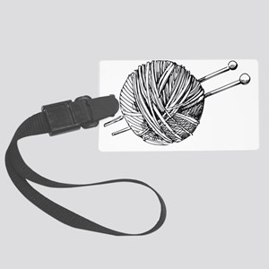Knit Large Luggage Tag