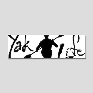 YakLife Logo Car Magnet 10 x 3