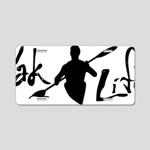 YakLife Logo Aluminum License Plate