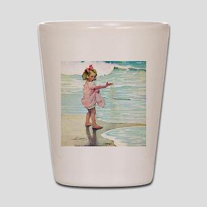 A Child at the Beach_SQ Shot Glass