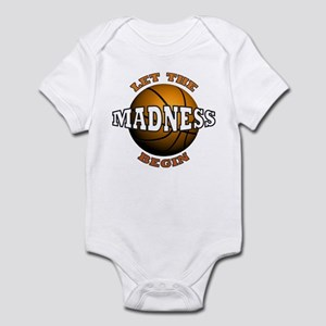 The Madness Begins Infant Bodysuit