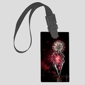 Firework 2 Large Luggage Tag