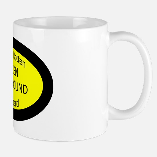 Spoiled Silken Windhound On Board Oval  Mug