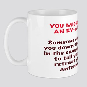 You Might Be An RV-er Mug
