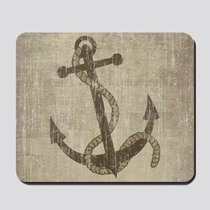 Vintage Anchor Mousepad