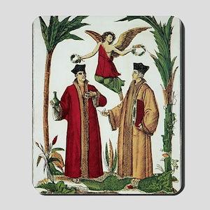 Cosmas and Damian, Christian saints Mousepad