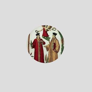 Cosmas and Damian, Christian saints Mini Button
