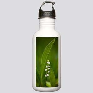Convallaria majalis (L Stainless Water Bottle 1.0L