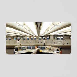 Control Room, Sizewell B Po Aluminum License Plate