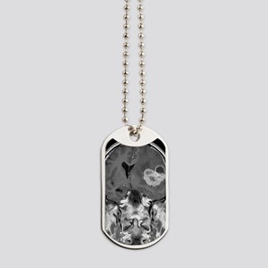 Brain cancer, MRI scan Dog Tags