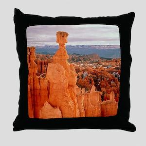Bryce Canyon in Utah Throw Pillow