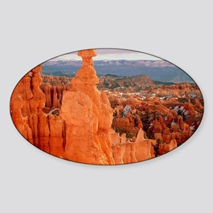 Bryce Canyon in Utah Sticker (Oval)