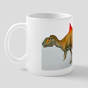 Concavenator dinosaur, artwork Mug