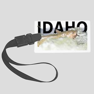 Idaho Catfish Large Luggage Tag