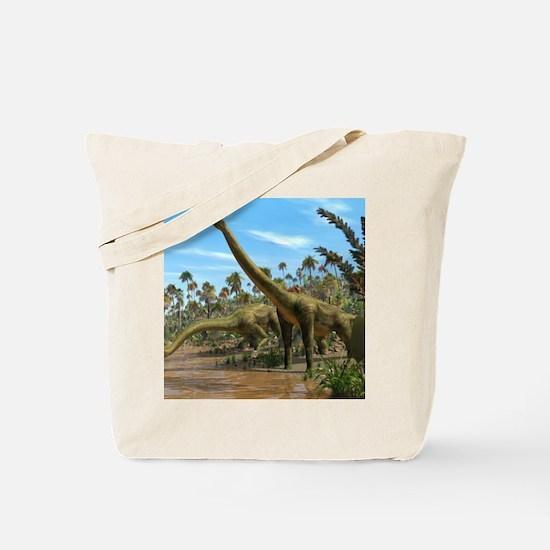 Brachiosaurus dinosaurs Tote Bag