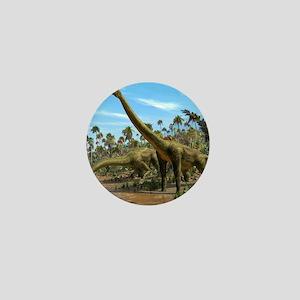 Brachiosaurus dinosaurs Mini Button