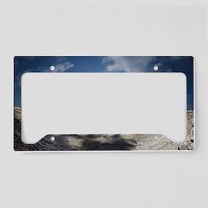 Barringer Crater License Plate Holder