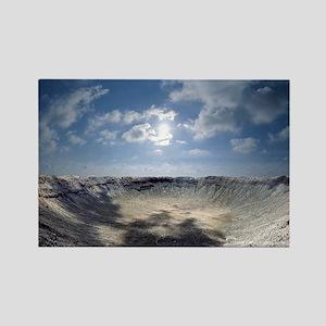 Barringer Crater Rectangle Magnet
