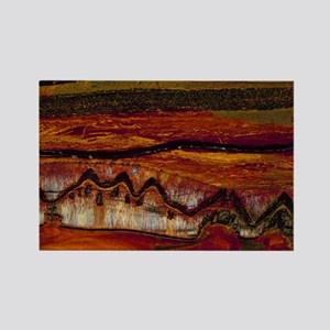 Banded iron formation Rectangle Magnet