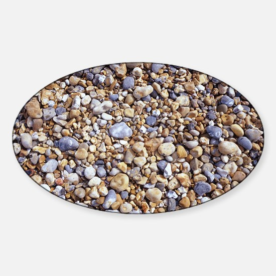 Beach stones Sticker (Oval)