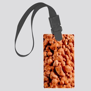 Bauxite, aluminium ore Large Luggage Tag