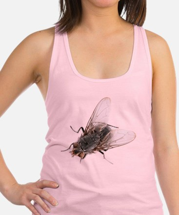 Common house fly Racerback Tank Top