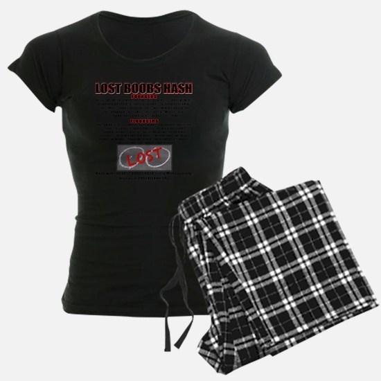 201207 Lost Boobs Pajamas