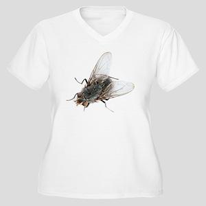 Common house fly Women's Plus Size V-Neck T-Shirt