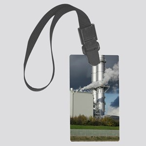 Combined cycle gas turbine power Large Luggage Tag