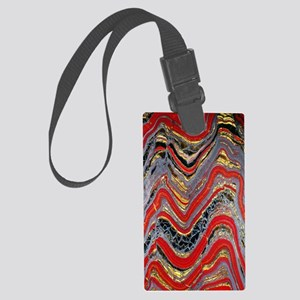 Banded iron formation Large Luggage Tag