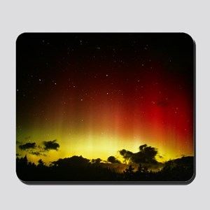Aurora borealis or northern lights and U Mousepad