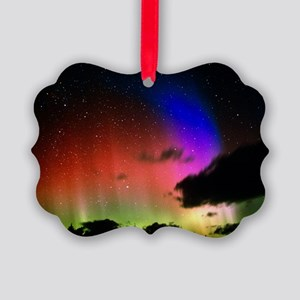 Aurora Borealis display with clou Picture Ornament