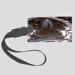 Cloud Gate sculpture in Chicago Large Luggage Tag