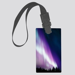 Aurora borealis Large Luggage Tag