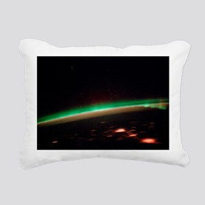 Aurora borealis Rectangular Canvas Pillow