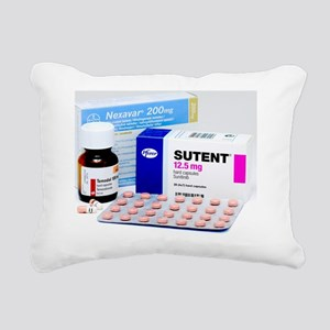 Chemotherapy drugs Rectangular Canvas Pillow