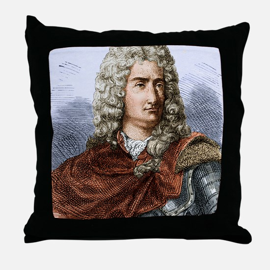 Charles Dufay (du Fay)1698-1739 Throw Pillow
