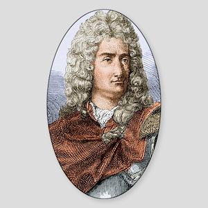 Charles Dufay (du Fay)1698-1739 Sticker (Oval)