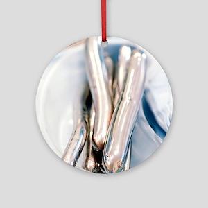 Cervical dilators Round Ornament