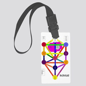 Tree of Life - Kings Scale Large Luggage Tag