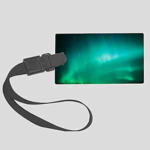 Aurora Borealis (Northern Lights Large Luggage Tag