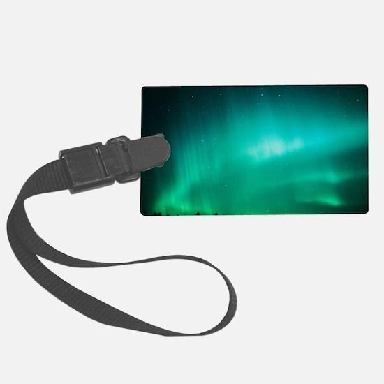 Aurora Borealis (Northern Lights Luggage Tag