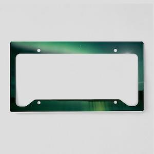 Aurora borealis License Plate Holder