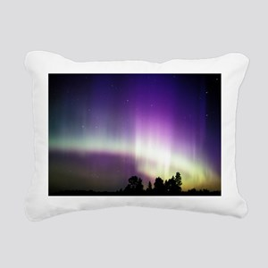 Aurora borealis Rectangular Canvas Pillow