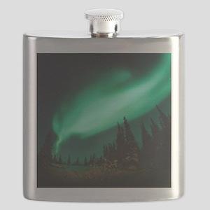 Aurora borealis Flask