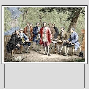 Charles de Secondat Montesquieu Yard Sign