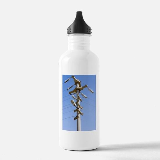 Cast concrete electric Water Bottle