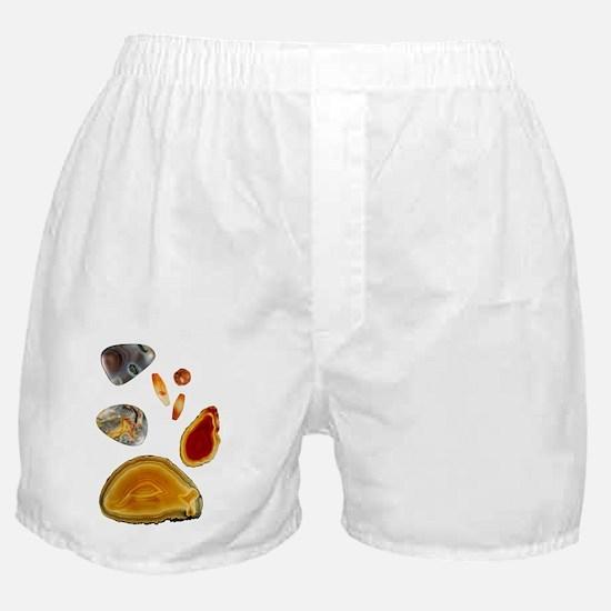 Carnelian agate Boxer Shorts